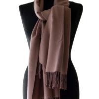 Bruine sjaal  kleint