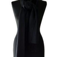 zwarte sjaal klein